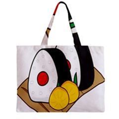 Sushi Food Japans Zipper Mini Tote Bag by Mariart