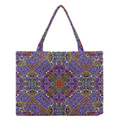 Oriental Pattern 01a Medium Tote Bag by MoreColorsinLife
