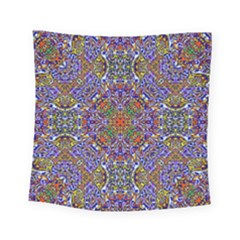 Oriental Pattern 01a Square Tapestry (small) by MoreColorsinLife