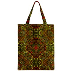 Oriental Pattern 01b Zipper Classic Tote Bag by MoreColorsinLife