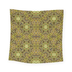 Oriental Pattern 02a Square Tapestry (small) by MoreColorsinLife