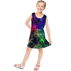 Color Fun 03b Kids  Tunic Dress by MoreColorsinLife