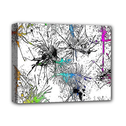 Color Fun 03f Deluxe Canvas 14  X 11  by MoreColorsinLife