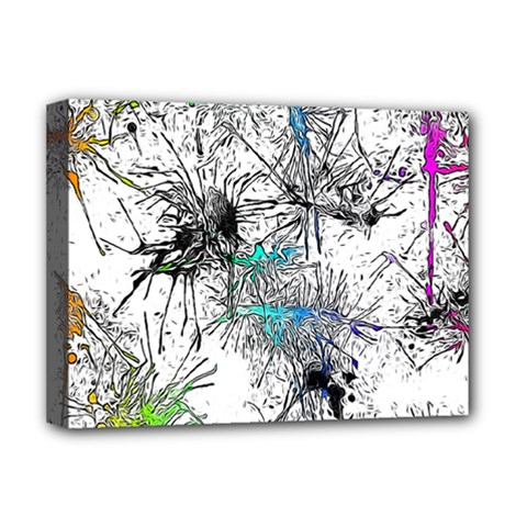 Color Fun 03f Deluxe Canvas 16  X 12   by MoreColorsinLife
