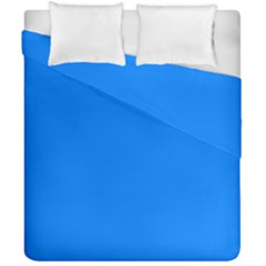 Azure Duvet Cover Double Side (california King Size) by SimplyColor