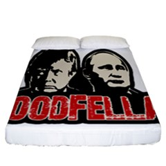 Goodfellas Putin And Trump Fitted Sheet (california King Size)