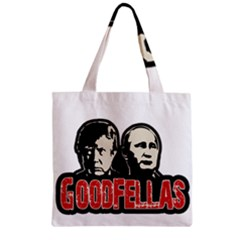 Goodfellas Putin And Trump Zipper Grocery Tote Bag by Valentinaart