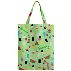 Summer Pattern Classic Tote Bag by Valentinaart