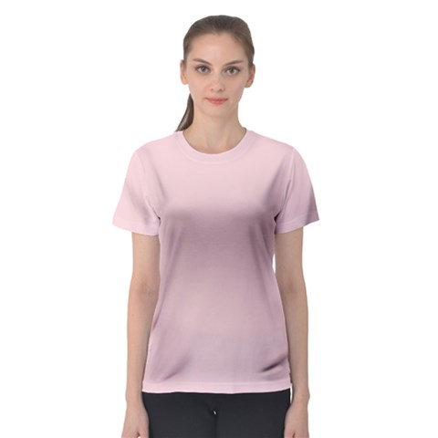 Blush Pink Women s Sport Mesh Tee by SimplyColor