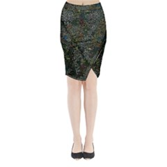 Chaos B2 Midi Wrap Pencil Skirt