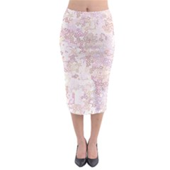 Chaos W3 Midi Pencil Skirt by MoreColorsinLife