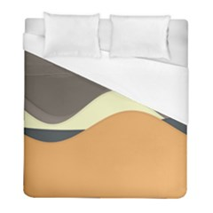 Wave Chevron Waves Material Duvet Cover (full/ Double Size) by Mariart