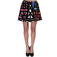 7 Wonders World Skater Skirt by Mariart