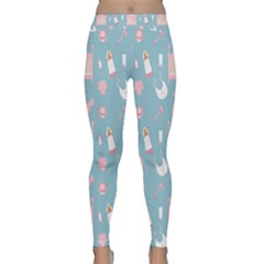 Baby Girl Accessories Pattern Pacifier Classic Yoga Leggings by Mariart