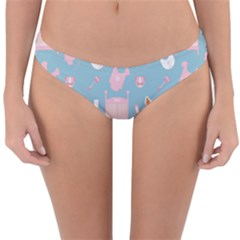 Baby Girl Accessories Pattern Pacifier Reversible Hipster Bikini Bottoms