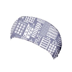 Building Citi Town Cityscape Yoga Headband by Mariart