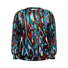 Dizzy Stone Wave Women s Sweatshirt by Mariart