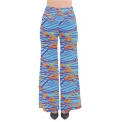 Geometric Line Cable Love Pants by Mariart