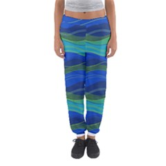Geometric Line Wave Chevron Waves Novelty Women s Jogger Sweatpants by Mariart