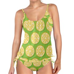 Lime Orange Yellow Green Fruit Tankini by Mariart