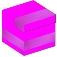 Line Pink Storage Stool 12   by Mariart