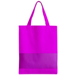 Line Pink Zipper Classic Tote Bag by Mariart