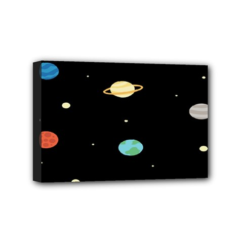 Planets Space Mini Canvas 6  X 4  by Mariart