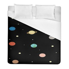 Planets Space Duvet Cover (full/ Double Size)