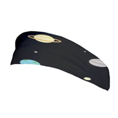Planets Space Stretchable Headband by Mariart