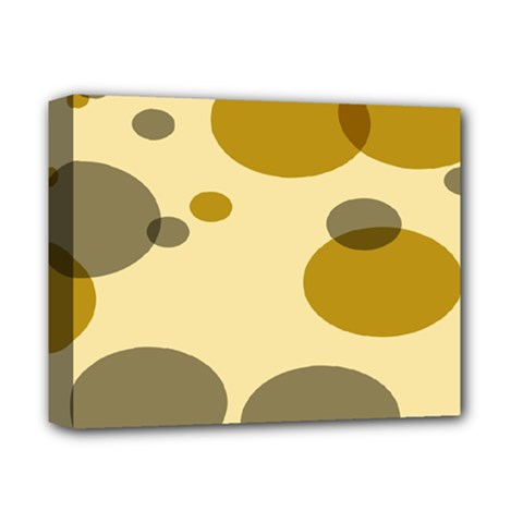 Polka Dots Deluxe Canvas 14  X 11  by Mariart