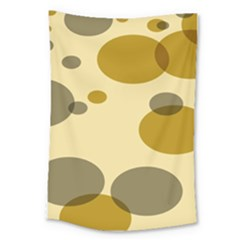 Polka Dots Large Tapestry by Mariart