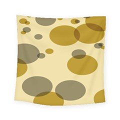 Polka Dots Square Tapestry (small) by Mariart