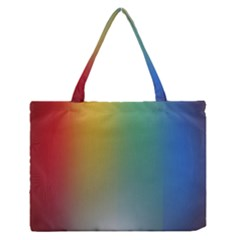 Rainbow Flag Simple Medium Zipper Tote Bag by Mariart