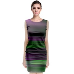 Screen Random Images Shadow Classic Sleeveless Midi Dress by Mariart