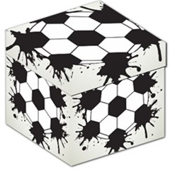 Soccer Camp Splat Ball Sport Storage Stool 12   by Mariart