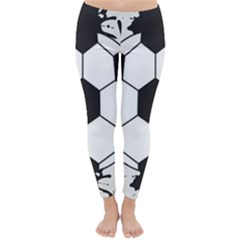 Soccer Camp Splat Ball Sport Classic Winter Leggings by Mariart
