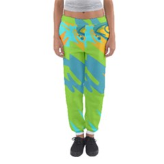 Skatepark Seaworld Fish Women s Jogger Sweatpants by Mariart
