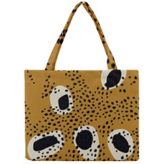 Surface Patterns Spot Polka Dots Black Mini Tote Bag by Mariart