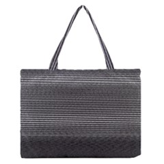 Shadow Faintly Faint Line Included Static Streaks And Blotches Color Gray Medium Zipper Tote Bag by Mariart
