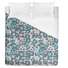 Sunbathing Beach Sea Duvet Cover (queen Size) by Mariart