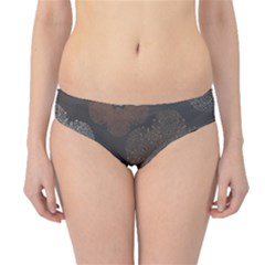 Walls Medallion Floral Grey Polka Hipster Bikini Bottoms