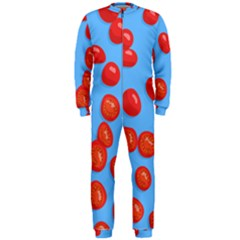 Tomatoes Fruite Slice Red Onepiece Jumpsuit (men)