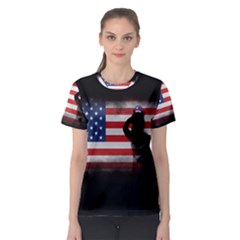 Honor Our Heroes On Memorial Day Women s Sport Mesh Tee