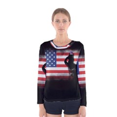 Honor Our Heroes On Memorial Day Women s Long Sleeve Tee