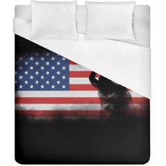 Honor Our Heroes On Memorial Day Duvet Cover (california King Size)