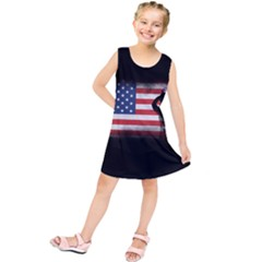 Honor Our Heroes On Memorial Day Kids  Tunic Dress by Catifornia