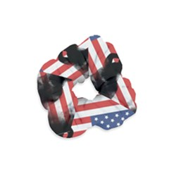 Honor Our Heroes On Memorial Day Velvet Scrunchie by Catifornia
