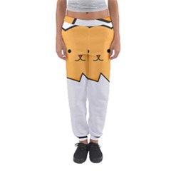 Yellow Cat Egg Women s Jogger Sweatpants by Catifornia