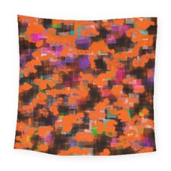 Orange Texture                 Fleece Blanket by LalyLauraFLM