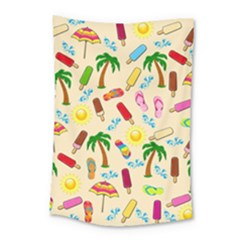 Beach Pattern Small Tapestry